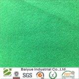 Corte de fieltro de poliéster de color verde para el bricolaje Handicrats y ornamentos