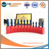 1,5X4X50HRC45-68 carburo de tungsteno 2/3/4 molinos de extremo de la flauta