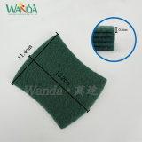 Форма Bow-Tie Strong Scourer очистки блока форму Абразивные губки с абразивным покрытием зеленого цвета