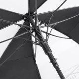 卸し売り安くまっすぐなゴルフ二重層の防風の傘の広告
