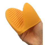 Мини-силикон кухонные рукавицы перчатки термостойкий водонепроницаемый барбекю руки перчатками