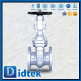 Valvola a saracinesca flessibile della rotella di mano del cuneo di Didtek