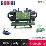 Hohe Leistungsfähigkeits-lärmarmer Schrauben-wassergekühlter Kühler-umweltfreundliches Kühlmittel R134A oder R407c