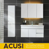 木製の現代様式の防水浴室の記憶のペンキの浴室用キャビネット(ACS1-W94)