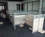 Estações de trabalho do escritório da mobília de escritório com o carro do processador central das gavetas