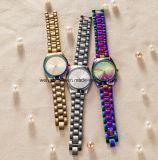 Orologi su ordinazione di modo della vigilanza del quarzo delle donne di marchio per le signore (WY-17003D)