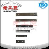 Pieza inserta del carburo de tungsteno de la carpintería de la alta calidad para el corte