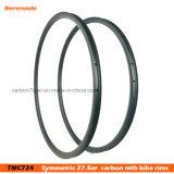 O carbono padrão Xc MTB do carbono 650b Hookless 27.5 claros orlara a largura sem câmara de ar 24mm