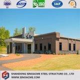 El alto grado de estructura de acero prefabricados Taller Industrial Construcción