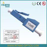 Type atténuateur de fiche de fibre optique de LC UPC RPA avec large principal de 6.0mm
