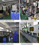 Quadratische kosmetische Plastikflasche für Karosserien-Lotion (BT-D-4-260)
