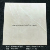 Telha vitrificada Jinggang cheia escura da porcelana da telha do mármore do corpo de Foshan