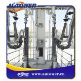 Premier bras de pression fermé avec le système de reprise de vapeur
