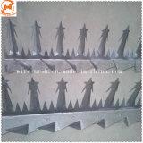 Стены с покрытием из ПВХ с остроконечными/ Anti-Climb стены борона с остроконечными зубьями