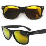 Óculos de sol Vintage fluorescentes com logotipo personalizado
