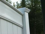 Cerca do PVC do quintal da alta qualidade com preço do competidor