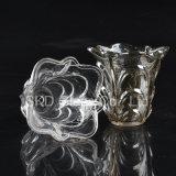 Suporte de vela de vidro decorativo C016 do candelabro