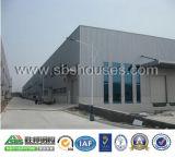 De ontworpen Prefabrication van de Structuur van het Staal Loods van de Bouw van het Pakhuis