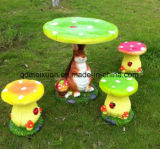 Creativo al aire libre del balcón del jardín un conjunto de los vectores y de las sillas (M-X3103)