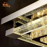 Grande lampada a cristallo Witjh del lampadario a bracci di ingegneria LED personalizzato