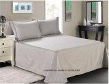 Re Size Bedding Set eccellente ricamata alla moda del cotone egiziano