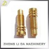 O bronze fazendo à máquina feito sob encomenda do CNC das peças de metal da fabricação parte o fabricante