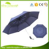 自動高いQualty 21*8Kは3つのフォールドの傘を開閉したり