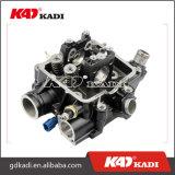 Testata di cilindro universale di Alumunium del motore nero del motociclo per le parti del motociclo