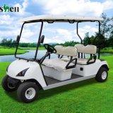 Automobile elettrica di golf di 4 di Seater prezzi di fabbrica con il tetto (DG-C4)