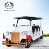 Coche eléctrico de visita turístico de excursión clásico del golf del carro del fabricante de la fábrica del OEM de 6 asientos