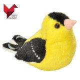 선전용 선물 작은 견면 벨벳 장난감 새