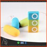 女性のための卵ボディマッサージャーの性のおもちゃの大人の製品を振動させる卵の無線防水エムピー・スリー様式のリモート・コントロールバイブレーターを跳びなさい