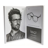 Novo design do papel de óculos de impressão Arcrylic OEM Suporte de exibição de avisos