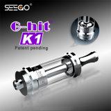 Il nuovo modo di Seego G-Ha colpito i prodotti di K1 Vape con il serbatoio di vetro