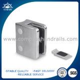 柵のためのステンレス鋼の正方形55*70mmガラスのホールダー