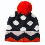 Cappello del Beanie dei bambini del cappello lavorato a maglia cappello del cranio del cappello del jacquard