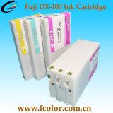 Cartuchos de tinta compatibles de la frontera S Dx-100 FUJI Dx100 con tintas ULTRAVIOLETA profesionales del tinte