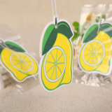 レモンにおいレモン形のハングのペーパー芳香剤(YH-AF243)