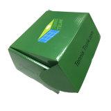 주름을 잡은 우송 상자를 인쇄하는 광택 있는 지상 관례