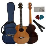 Таможня талантливости Aiersi оптовая электрическая все твердые акустические гитары