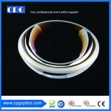 Dia50.8mm positive optique sphérique en silice fondue objectif à ménisque