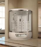 Quarto de chuveiro popular do vapor com banheira da massagem