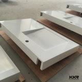 Kingkonreeのホテル(B171011)のための現代固体表面の浴室の容器の流し