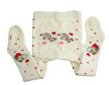 De Katoenen van de Jonge geitjes van de Kinderen van de baby Warme Winter Volledige Terry Tights (TA500)