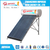 no calentador de agua solar de acero galvanizado presión del tubo de vacío 300L