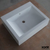 Lavabo di pietra artificiale moderno europeo della mano della stanza da bagno di Kkr (B170927)