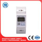 Тип счетчик энергии одиночной фазы электронный, электрический счетчик, электронный метр с RS485 и иК рельса DIN