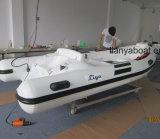 Hypalon Liya 3,8 m de barco inflável costela China costela construtor da embarcação