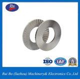 Aço inoxidável ISO/DIN25201 de Aço Carbono Duplo Arruelas de Pressão