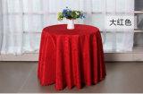 100% algodón ronda mantel de la boda para Hotel